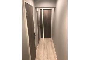 洗練された廊下