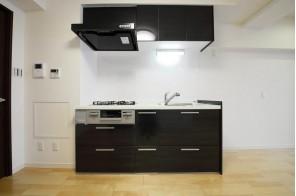 機能性充実のキッチン