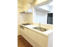 食器洗浄機も付いているキッチン
